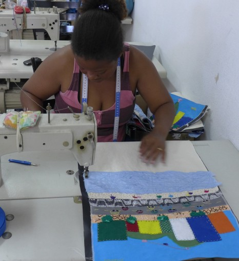 Produção de bolsas para a loja Missiza